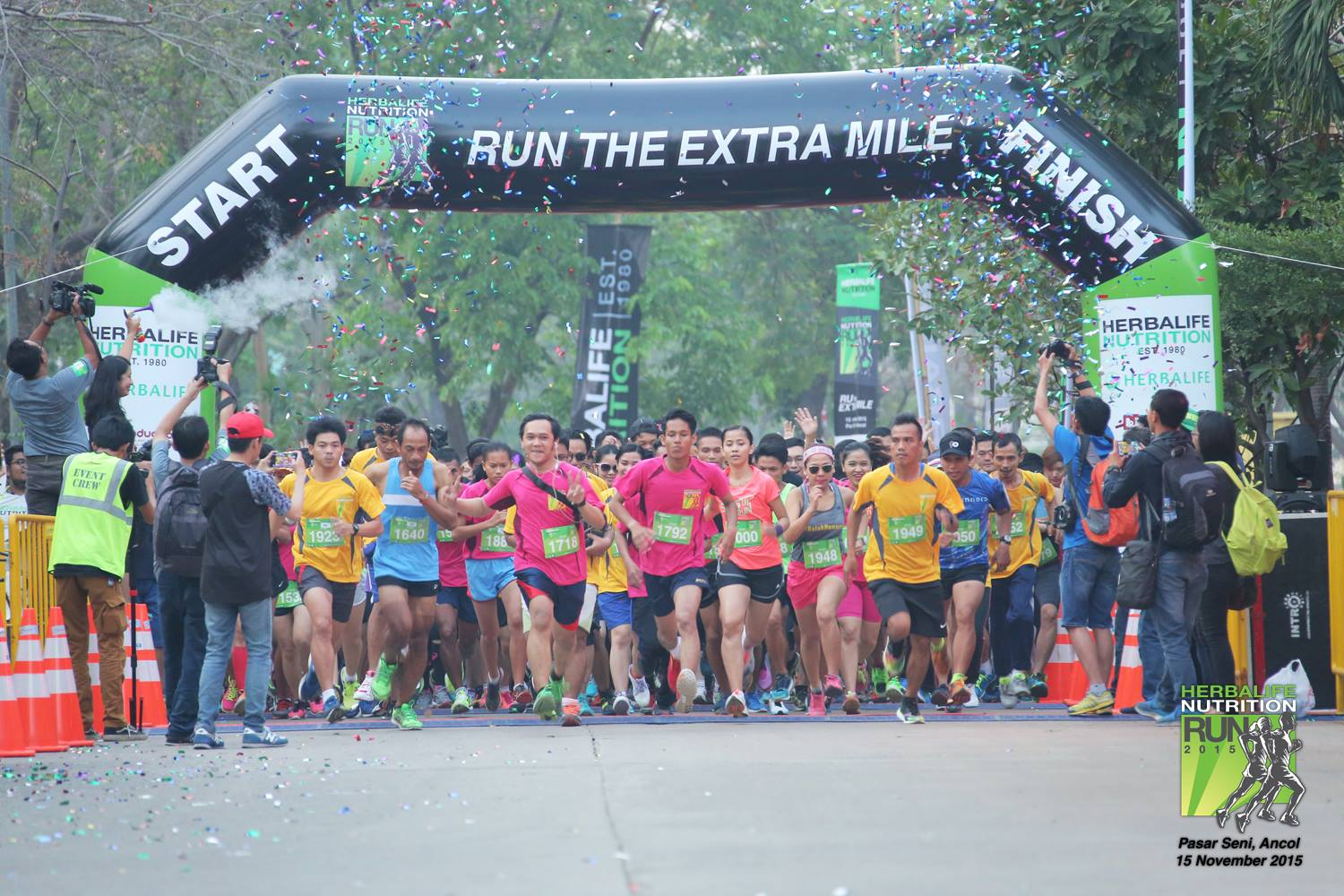Herbalife Nutrition Run 2015