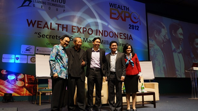 WEALTH EXPO INDONESIA 2012
