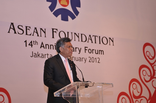 Asean Foundation 2012