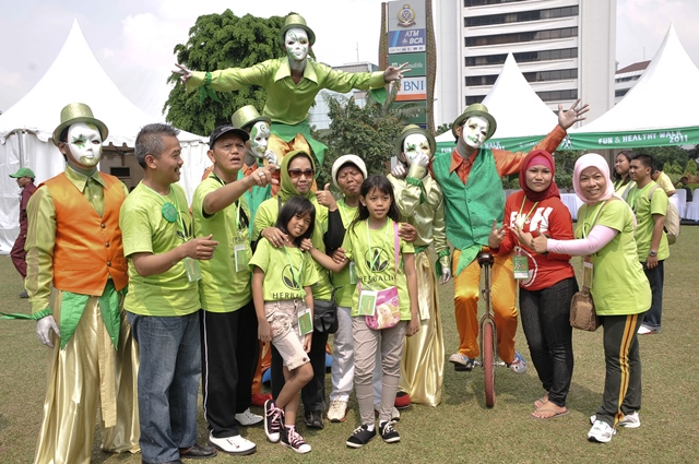 Herbalife Fun & Healthy Walk 2011