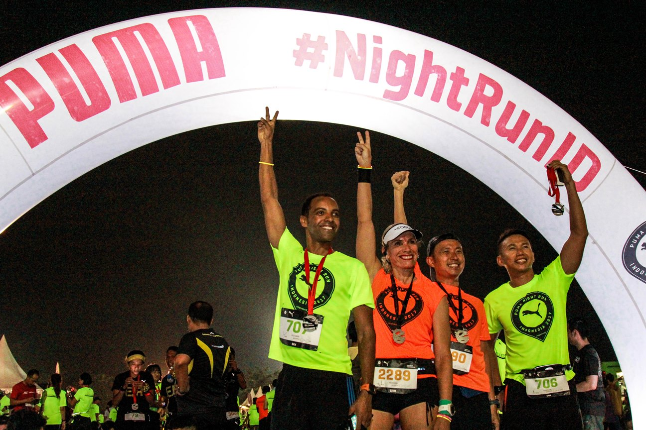 PUMA Night Run Indonesia 2017