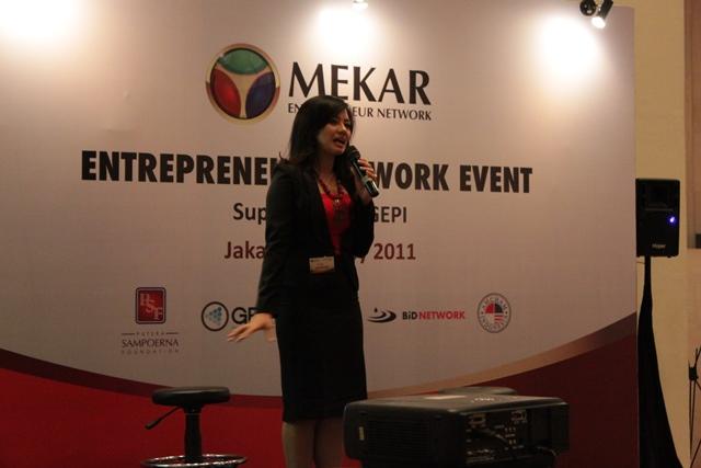 Mekar Enterpreneur Network 20111