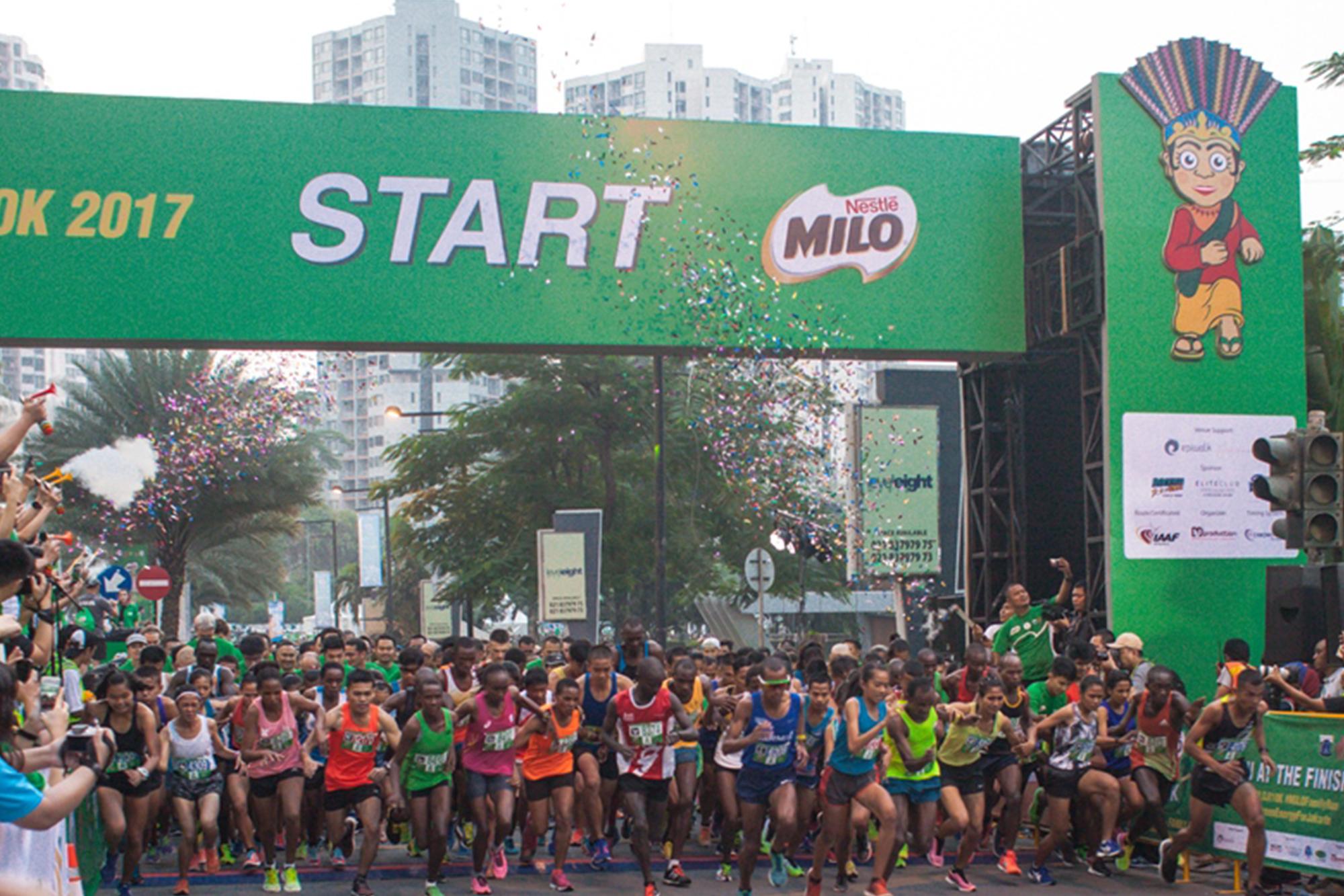MILO Jakarta International 10K 2017