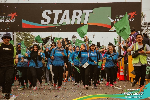 Herbalife Nutrition Run 2017