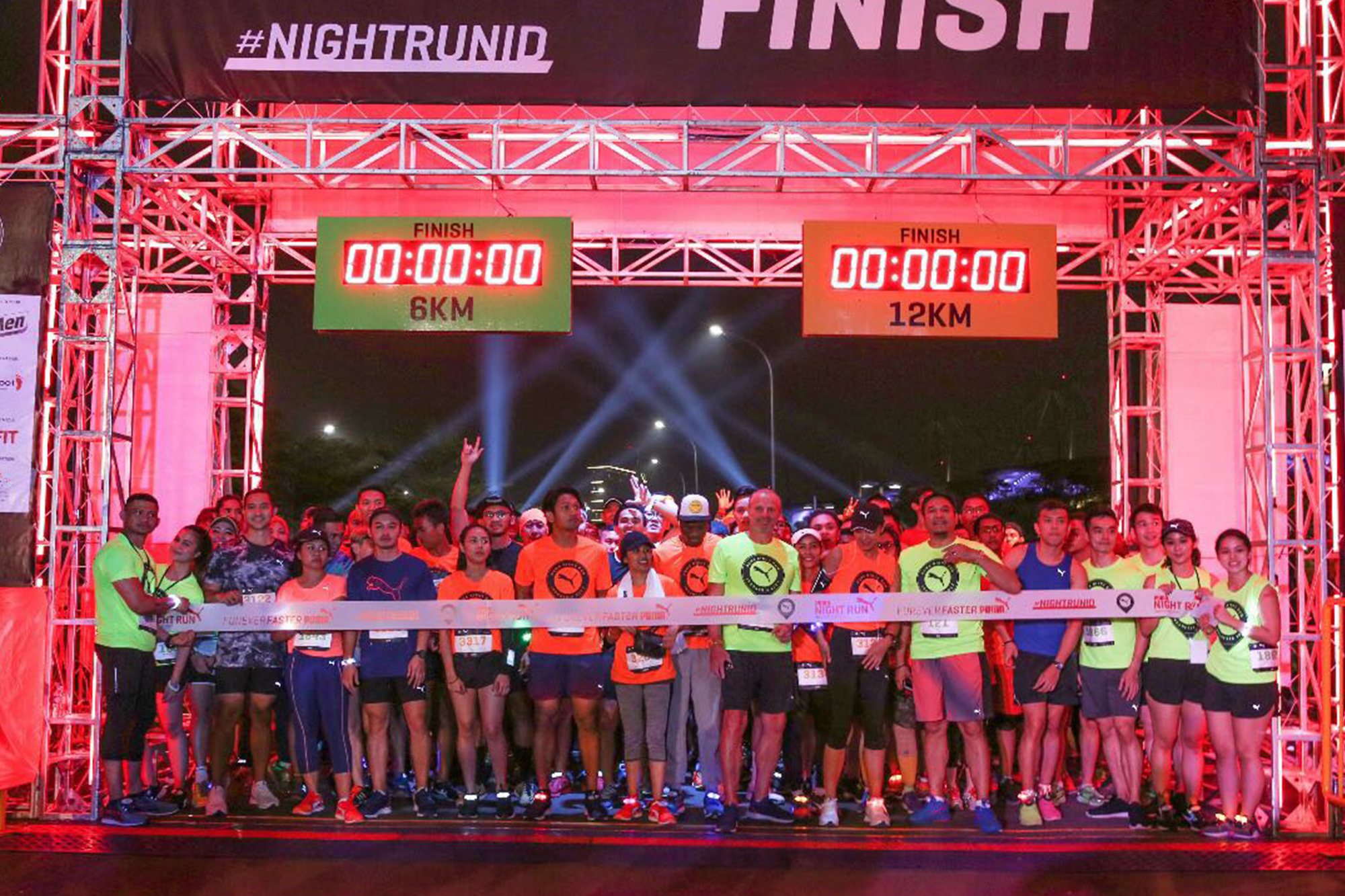 PUMA Night Run Indonesia 2017